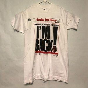 Vintage Chicago Bulls Jordan T Shirt
